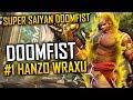 #1 HANZO WRAXU TRIES DOOMFIST OVERWATCH *HOLY SH*T*
