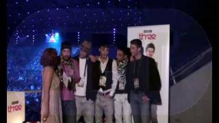 George Alkaios & Friends - Interview @ BBC 3 during 2nd ESC2010 semifinal (27/5/2010)