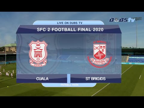 2020 Dublin Senior 2 Football Final- Cuala v St Brigids