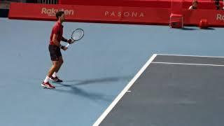 Novak Djokovic Practice /Rakuten Open 2019 /Japan Tokyo