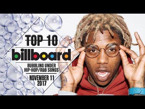 Top 10 • US Bubbling Under Hip-Hop/R&B Songs • November 11, 2017 | Billboard-Charts