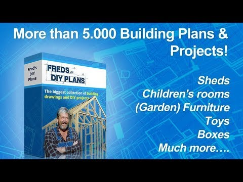 Beginner Woodworking Projects - Freds 5000 Do it Yourself Building Plans!