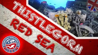 (4k) Red Sea: SS Thistlegorm Scuba Dive - Part II: Interior (English version)