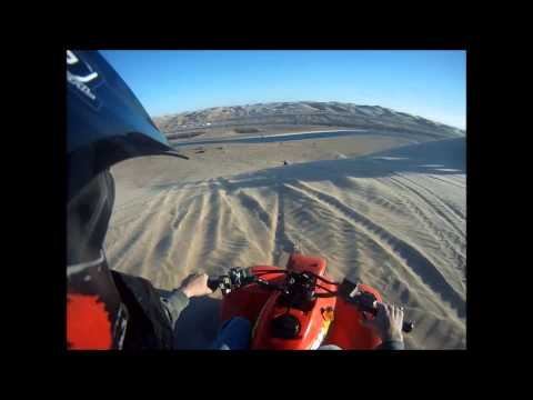 Mike and Erik's Dune Thrashing in Gordons Well