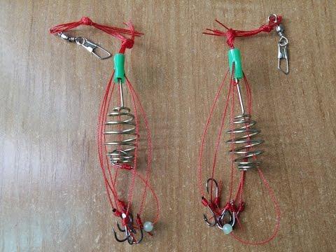 кормушка с сеткой для ловли рыбы китайская видео
