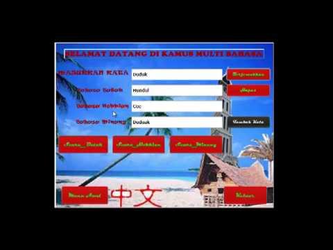 Aplikasi Kamus Multi Bahasa
