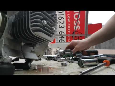 junk 2 stroke generator tear down