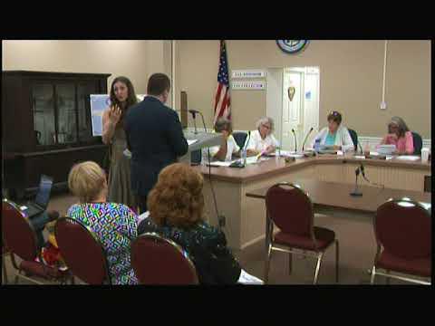 Tiverton Town Council Meeting September 11, 2017 Part 1