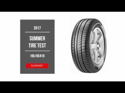 2017 Summer Tire Test – Summary | 195/65 R15