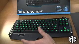 Close-up with the Logitech G410 gaming keyboard