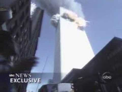 View of Flight 175 Impact From Street Level - YouTube