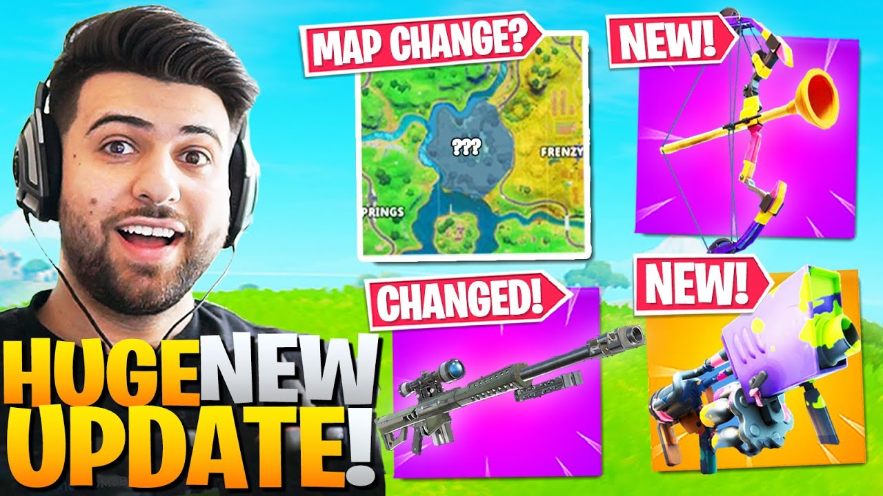 Everything Epic Didn T Tell You In The Huge New Update Fortnite Battle Royale Patch Notes Youtube The patch notes for the fortnite 2.66 update have been released on playstation 4, nintendo switch what is included in the latest fortnite update? everything epic didn t tell you in the huge new update fortnite battle royale patch notes