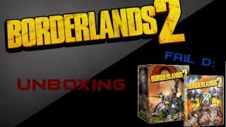Unboxing / Failboxing BorderLands 2 Deluxe Vault Hunter Collector Edition PS3