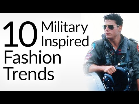 10 Military Inspired Fashion Trends | Mens Style Pieces With Army Heritage | Veteran's Day Tribute