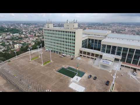 Vue panoramique du Palais des Congrès de Yaoundé