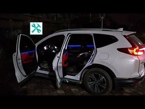 2019 Honda CR-V | DOOR led AMBIENT light INSTALLATION 🛠 💡 / PART 2/2