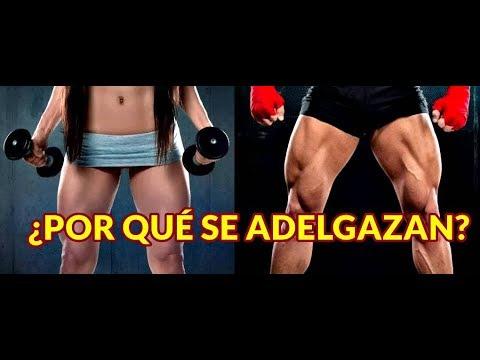 Se pierde masa muscular