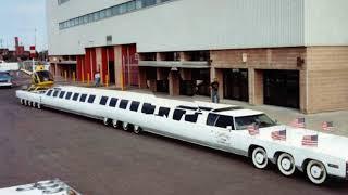 лимузин от Джей Орберга - самый длинный лимузин в мире