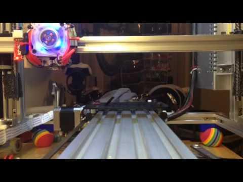 Folgertech Y-Axis Openbuilds Upgrade Gen-2 using an offset belt