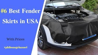 Top 6 Best Fender Skirts in USA – Best Car Care Products 2018