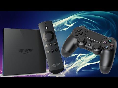Amazon Fire TV + PS4 Controller ANSCHLIESSEN - so wirds gemacht !