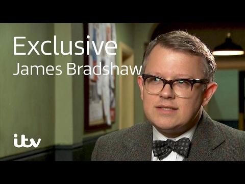 Endeavour  James Bradshaw  Behind the s  ITV