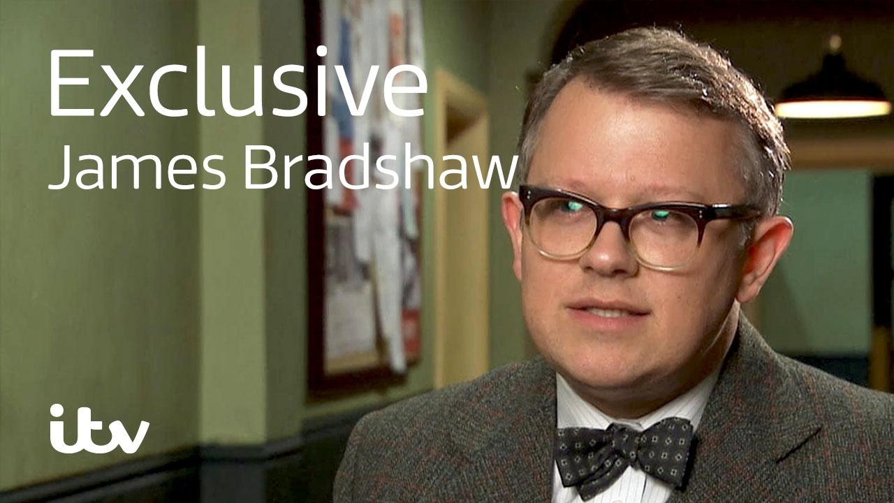 Download Endeavour | James Bradshaw | Behind the Scenes | ITV