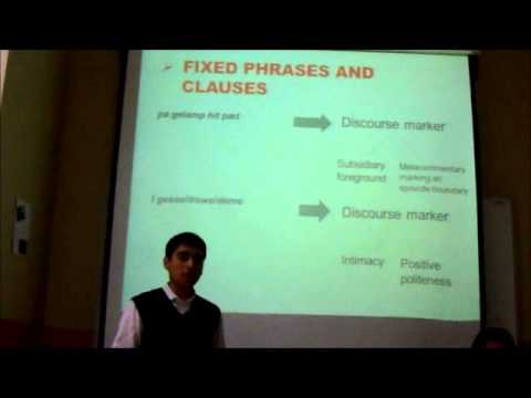 Presentation: Historical Discourse Analysis