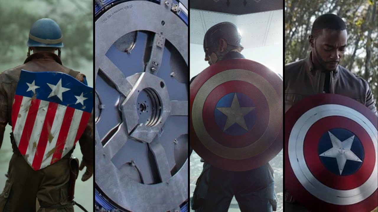 Every Version Of Captain America's Shield In The MCU (& Where They Are) -  YouTube...The First Avenger