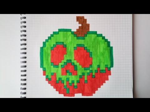 Pixel Art Blanche Neige Youtube