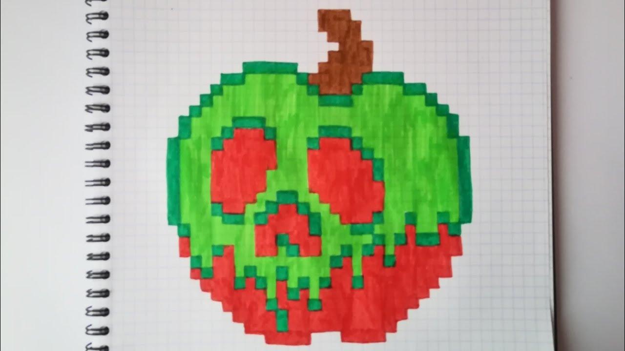 Pixel Art Blanche Neige