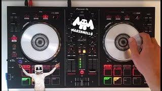 marshmello live mix pioneer ddj sb2