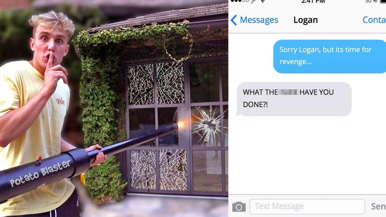 You Won't Believe What We Did.. SORRY LOGAN!!