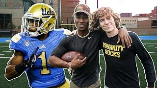 PLAYING FOOTBALL AT UCLA W/ DANNY DUNCAN!