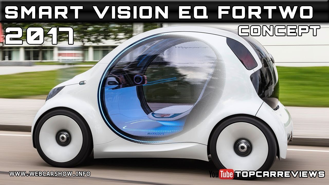 ead4ab386 2017 SMART VISION EQ FORTWO CONCEPT Review Rendered Price Specs Release Date