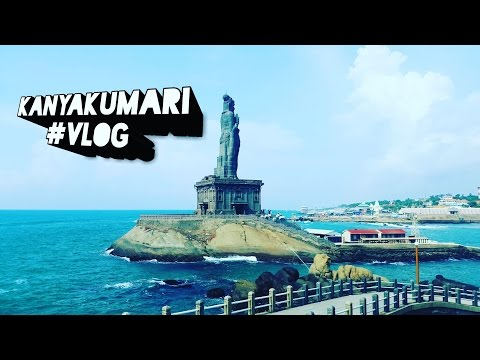 Chennai to Kanyakumari #Kanyakumari Vivekananda Rock Memorial HINDIVLOG Tourist Spot in India