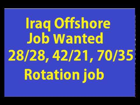 Iraq Offshore jobs