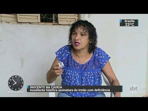 Homem admite ter se passado pelo próprio irmão para cometer crimes   SBT Brasil (05/12/17)