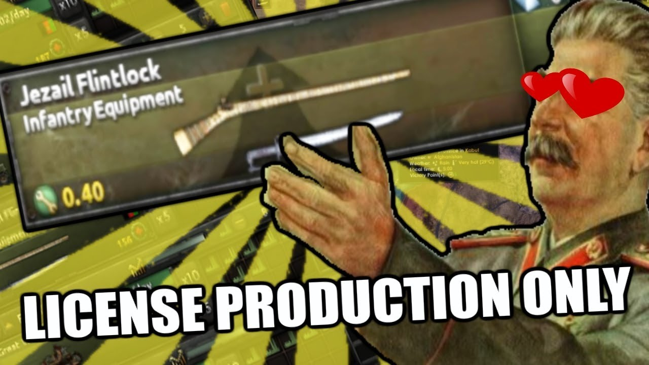 Hearts Of Iron 4: FLINTLOCKS HAVE BEEN ADDED - THE ULTIMATE Meme