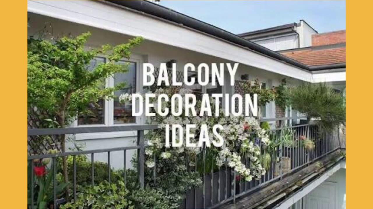 Amazing Narrow Balcony Decoration Ideas