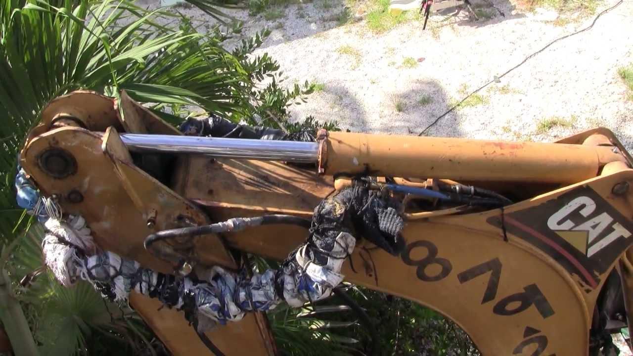 Caterpillar Stick Amp Boom Hydraulic Cylinder Replacement