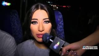 شنتال جعجع مراسلة ستار اكاديمي 11 في الباص بعد البرايم 5