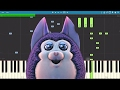Tattletail Song   Come To Mama   TryHardNinja   Piano Cover   Tutorial