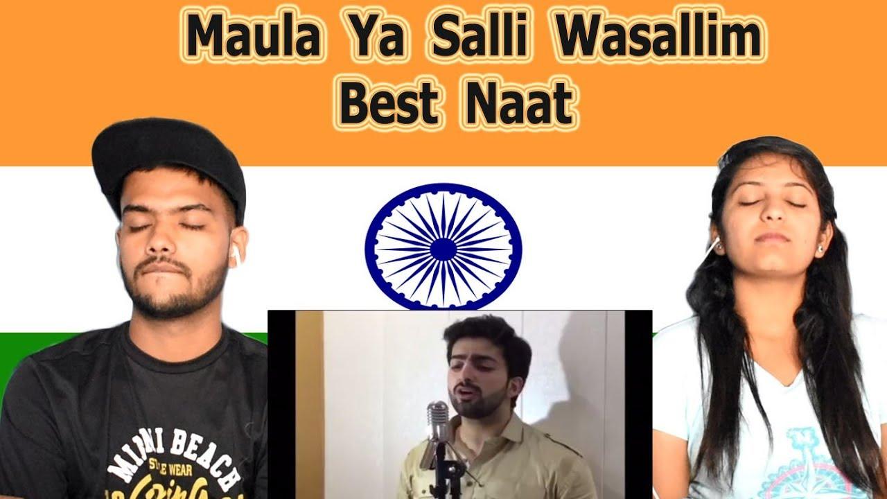 Indian reaction on Maula Ya Salli Wasallim | Danish F Dar | Dawar Farooq | Best Naat | Swaggy d #1