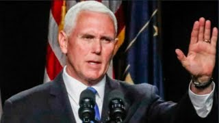 Mike Pence's PATHETIC commencement speech cause graduation walkout