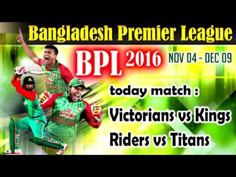 Bangladesh Premier League 2016  Live Cricket Score, Live Streaming