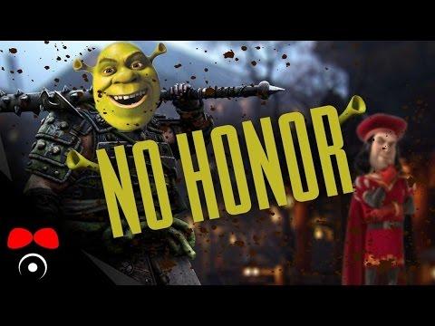 NO HONOR: Shrek chrání svou bažinu
