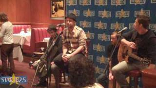 OneRepublic - Interview Pt 3 (Live at Fleming