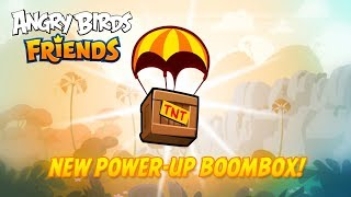 Angry Birds Friends - Boombox (New Power-up)