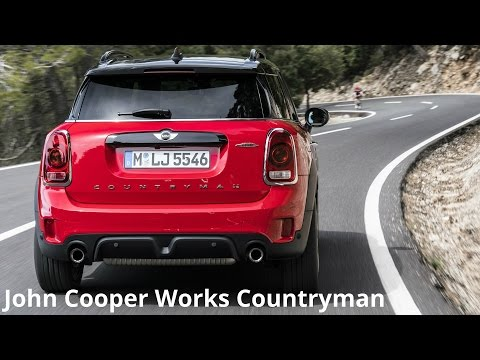 2017 MINI John Cooper Works Countryman ALL4 - Design - YouTube